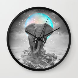 Strength & Courage Wall Clock