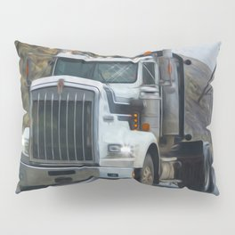 Delivery Done! Truck Art Pillow Sham