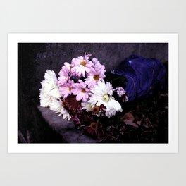 Bring me flowers Art Print