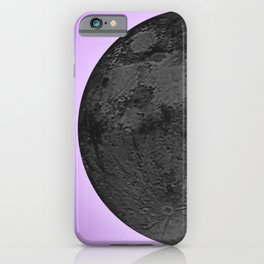 BLACK MOON + LAVENDER SKY iPhone Case