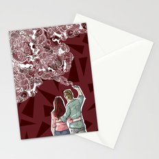Painting dream Stationery Cards