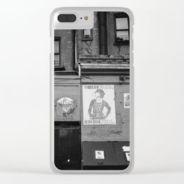 East Village Streets XI Clear iPhone Case