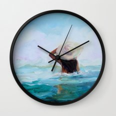 Private Beach Wall Clock