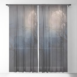 Haunted Forest Sheer Curtain