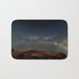 Starry Night Over Mesa Arch Bath Mat