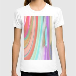 476 - Abstract Colour Design T-shirt