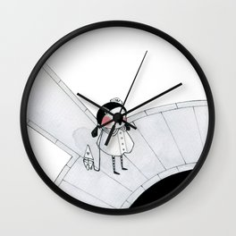 Boat Pond Wall Clock