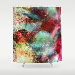 Passionate Flowers Shower Curtain
