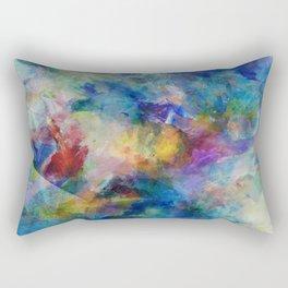 The Color of Chaos Rectangular Pillow