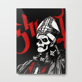 Papa Metal Print