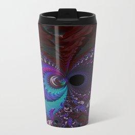Hoarse Hallow Fractal - Abstract Art Travel Mug