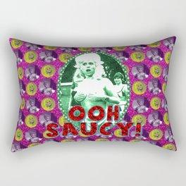 Carry On Babs Rectangular Pillow