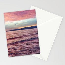 Silent sunrise Stationery Cards