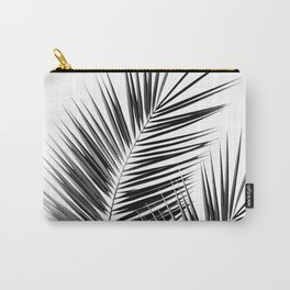 Black Palm Leaves Dream - Cali Summer Vibes #1 #tropical #decor #art #society6 Carry-All Pouch
