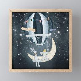 wish upon a star Framed Mini Art Print