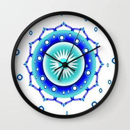 Call on your angels Wall Clock