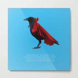 Lilienthal's Crow Metal Print
