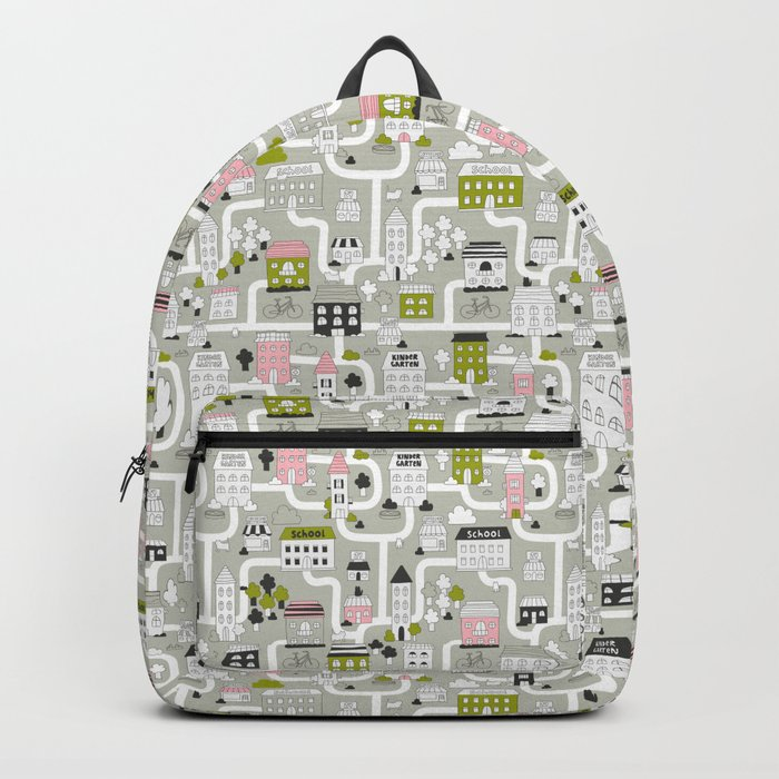 City map Backpack