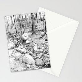 Running creek. Stationery Cards