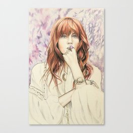 Florence (Musician Portraits) Canvas Print