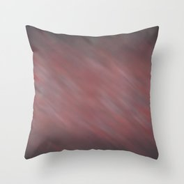 Abstract Soft Watercolor Gradient Blend Graphic Design 13 Red, White and Black Throw Pillow