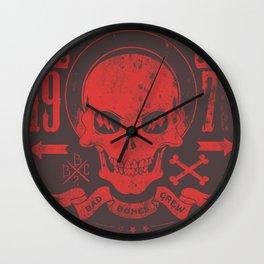 Bad Bones Crew 1978 Wall Clock