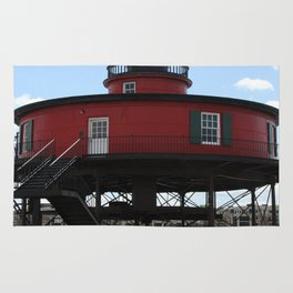 Seven Foot Knoll Lighthouse Rug