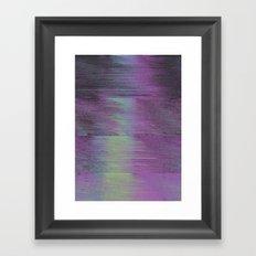 Glitch Haze #1 Framed Art Print