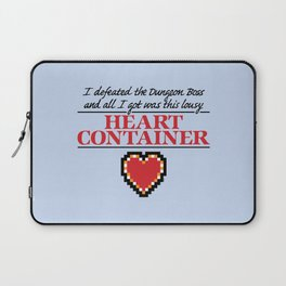 Lousy Heart Container Laptop Sleeve