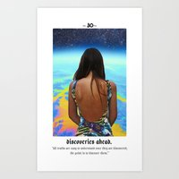 Cosmic Cards *Discoveries* #30 Art Print