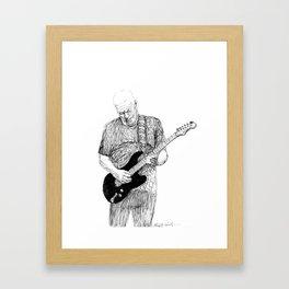 David Gilmour Framed Art Print