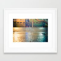 western Framed Art Prints featuring Western by Katie Scully