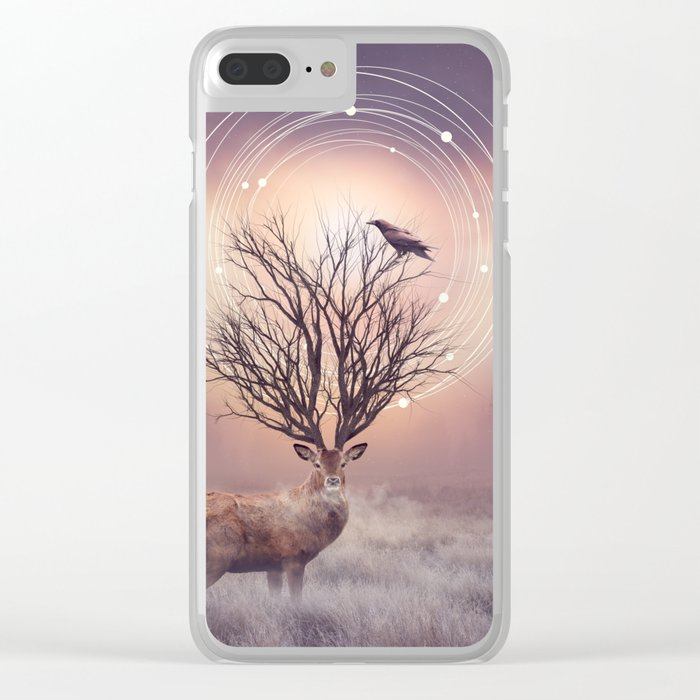 In the Stillness Clear iPhone Case