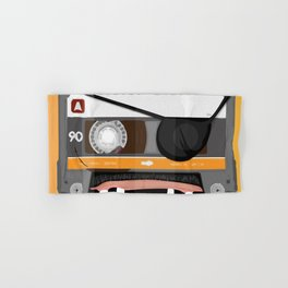 The cassette tape pirate Hand & Bath Towel