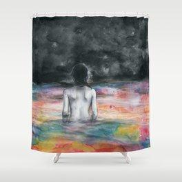 Verso l'infinito Shower Curtain