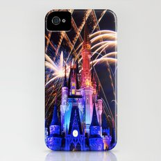 Walt Disney World Christmas Eve Fireworks iPhone (4, 4s) Slim Case