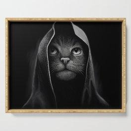 Cat portrait Serving Tray