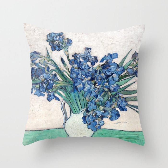 Irises II - Vincent Van Gogh Deko-Kissen