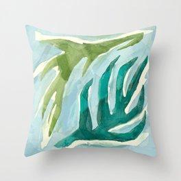 Drift Abstract Throw Pillow