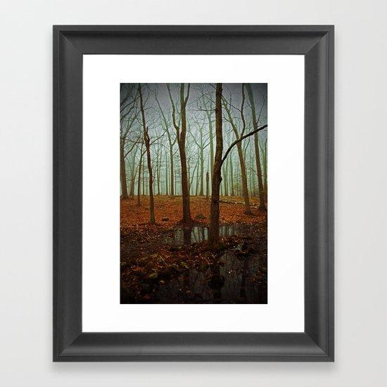 Do We Dare Go Into The Woods Framed Art Print