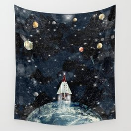 to boldly go Wall Tapestry