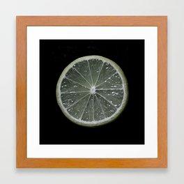 Key Lime Framed Art Print
