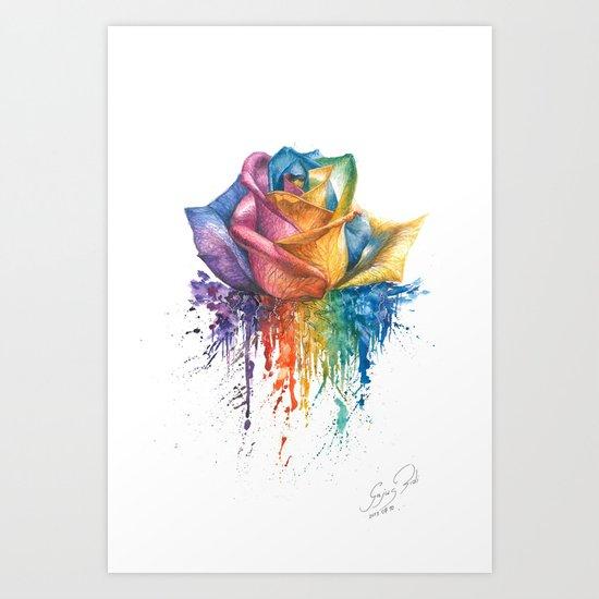 Fragile Beauty Art Print