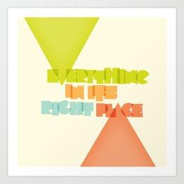 Everything . . Art Print