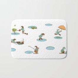 puddles Bath Mat