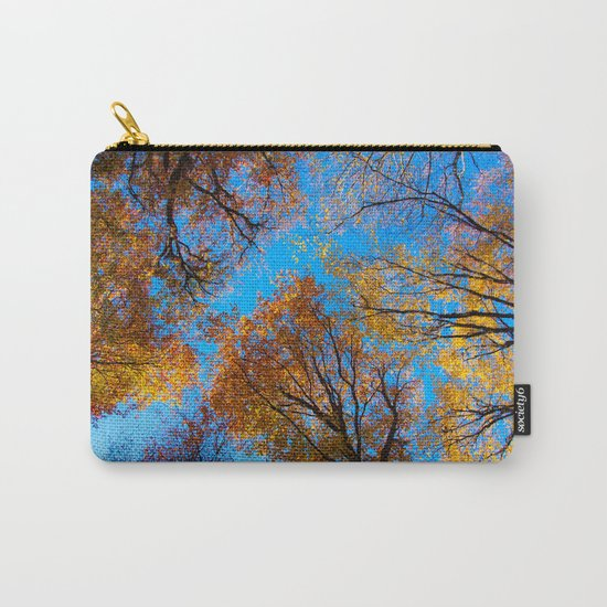 the sky in the forest Carry-All Pouch