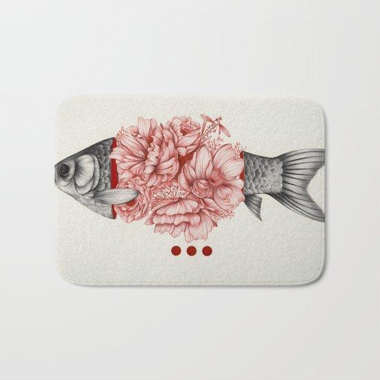 To Bloom Not Bleed III Bath Mat