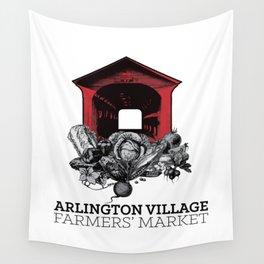 Arlington Village Farmers Market Wall Tapestry
