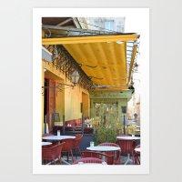 Van Gogh Cafe Art Print