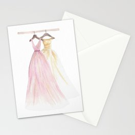 Two Dresses 1 Stationery Cards